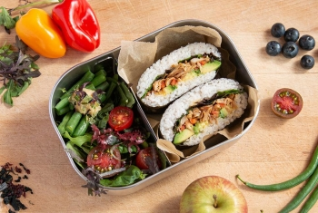 Onigirazu - Sushi szedvics