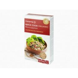 Bio gyorsan elkészíthető rizs és quinoa