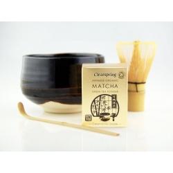 Japán matcha teaszertartás készlet