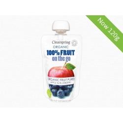 Bio 100% Gyümölcs - Útravaló – Alma és áfonyapüré