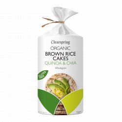 Bio barnarizs-keksz - quinoa és chia