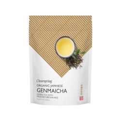 Bio japán Genmaicha tea - ömlesztett - ÚJ