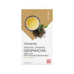 Bio Japán Genmaicha, Zöld tea pirított barna rizzsel - filteres