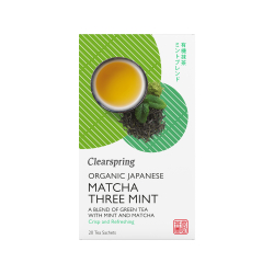 Bio Japán Matcha Menta zöld teakeverék - 20db filter