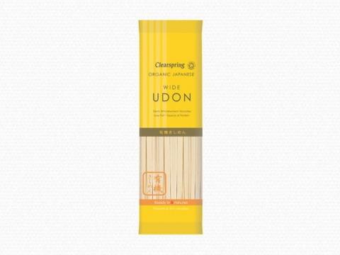 Bio japán wide Udon (szélesmetélt) tészták