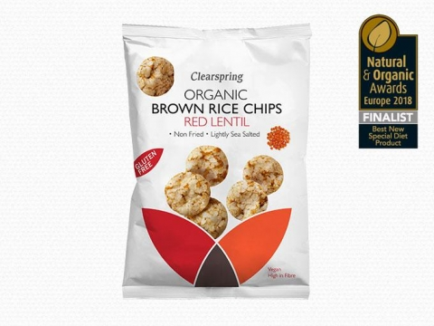 Bio Barnarizs Chips – Vöröslencsével