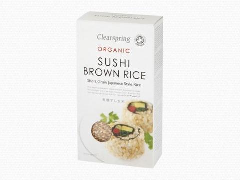 Bio Sushi barna rizs - rövid szemű japán stílusú rizs