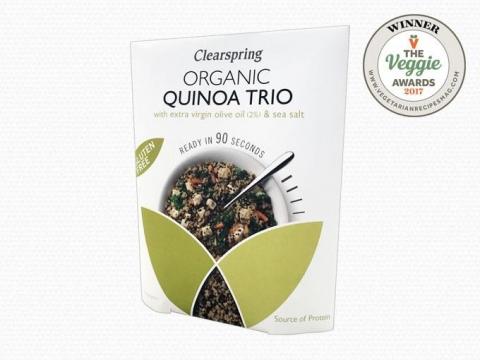 Bio gluténmentes 90 másodperces Quinoa Trio – Extra szűz olívaolajjal és tengeri sóval