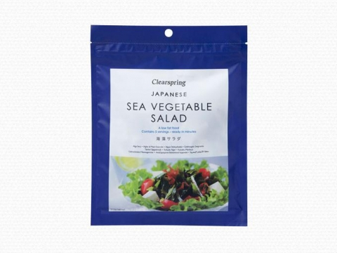 Japán tengeri alga saláta - szárított tengeri alga