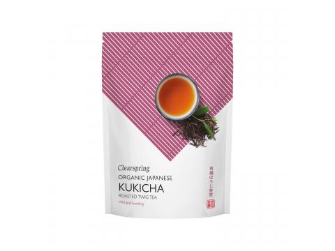 Bio japán Kukicha tea - ömlesztett - ÚJ