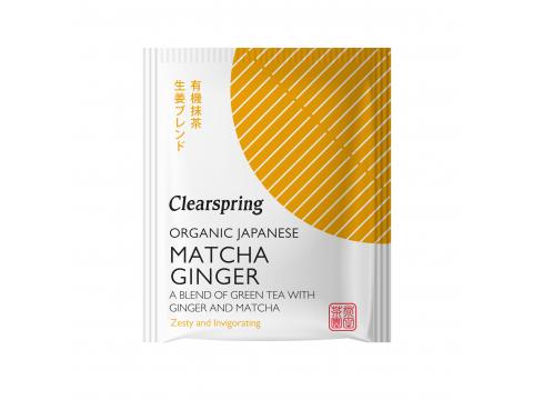 Bio Japán Matcha Gyömbér zöld teakeverék - 20db filter