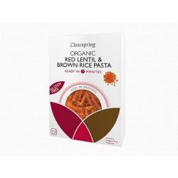 Bio gluténmentes vörös lencse és barna rizs tészta - Fusilli