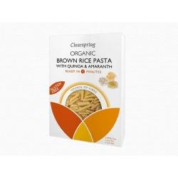 Bio gluténmentes barnarizs tészta quinoával és amarant maggal - Penne