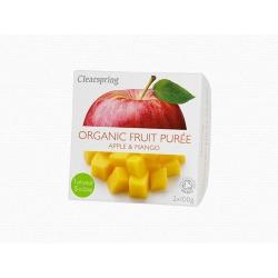 Bio Gyümölcspüré –Alma és mangó
