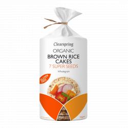 Bio barnarizs-keksz - 7 fajta szuper mag