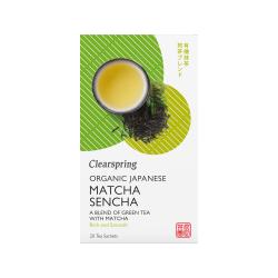Bio Japán Matcha Sencha, zölt teakeverék - 20db filter