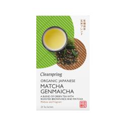 Bio Japán Matcha Genmaicha, zöld teakeverék - 20db filter