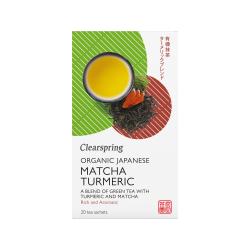 Bio Japán Matcha Kurkuma zöld teakeverék - 20db filter