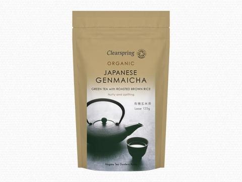 Bio Japán Genmaicha - Ömlesztett